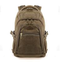 Aerlis canvas backpack fashion school bag backpack laptop bag 14 15
