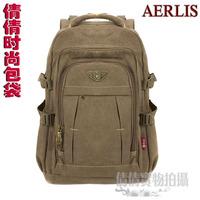 Man bag aerlis 17 canvas bag backpack laptop bag backpack casual student school bag