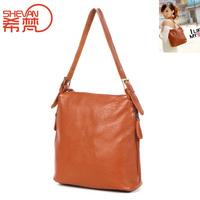 2013 brief women's genuine leather handbag first layer of cowhide handbag shoulder bag messenger bag