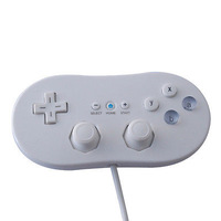 White Classic Wired Gamepad VIDEO GAME Controller for Nintendo Gamecube / Wii
