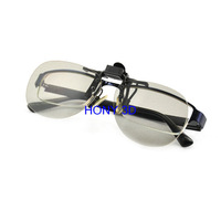 Clip On Circular Polarized 3D Glasses For Passive 3D TVS