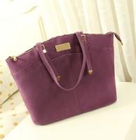 2014 new fashion big bag ladies handbag tide matte PU leather shoulder bag Korean version of the retro fashion handbags,--044