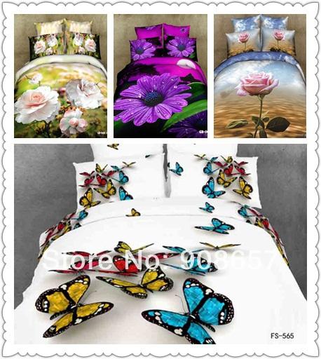 Постельные принадлежности Bedding sets 3D /doona 100% 7 duvet cover set