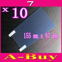 "Matte Anti-Glare Anti Glare Universal 7 7"" Inch Screen Protector Protection Guard Film,155mm X 87mm,10pcs"