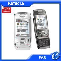 E66 Original Unlocked Nokia E66 3G WIFI GPS Bluetooth Mobile Phone Russian Keyboard In Stock Free shipping refurbished