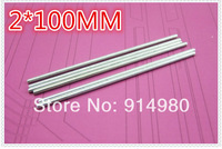 2MM * 100MM DIY handmade toys transform length shaft gear shaft connected to an axle shaft toys Toy axles