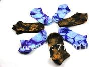 Free shipping 2014 new women 100% cotton Comfortable Socks sports ankle socks Female fashion Tie dye socks 5pairs/lot