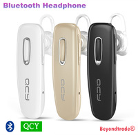 Brand QCY J02 Bluetooth Headset Wireless Headphones Noise Isolating Handsfree With Mic For iPhone Samsung Smart Phone