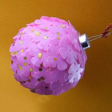 popular pink christmas ball