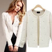 spring female loose sweater outerwear sweater long-sleeve cardigan  sweater women