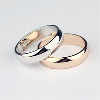 fashion gold ring new 2014 accessories plain wedding rings for women  jewelry the silver ring o Korean ring