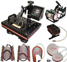 new style hot sale 8 in 1 multi-function sublimation printing machine mug t-shirt heat press machine