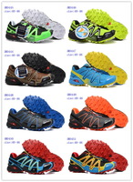 2014 Newest Colors Speed Cross 3 CS Walking Running Shoes for Men Zapatillas Outdoor Sports Athletic Shoes Free Shipping
