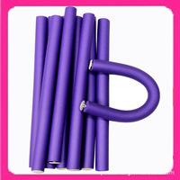 Free Shipping1.8cm width 10pieces/lot Hair Curling Flexi rods Magic Air Hair Roller Curler Bendy Magic Styling Hair Sticks