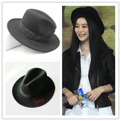 Vintage Wide Brim Women's Hats