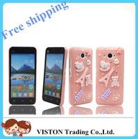 For XiaoMi Mi2 / Mi2S /2A Smart Mobile PC + Rhinestone Phone Cover Case Free Shipping