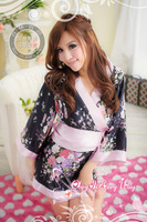 Free shipping new 2014 Improved version of the Japanese Kimono set game uniforms sexy lingerie wholesale women's obedience 2012