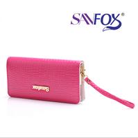 Day clutch female 2014 women's wallet female long design fashion 7 color