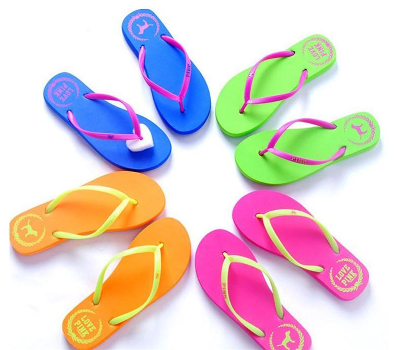Bestbuy Mocque Promotion Women Sandals 2014 Summer Beach Flip Flops Lady Slippers Women Shoes Women Flats(China (Mainland))