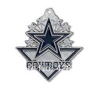 Free shipping fashion 50pcs a lot single-sided enamel NFL Dallas Cowboys  sports charm pendant(H103939)