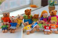 Digital bear Jack-a-Lent plush toy