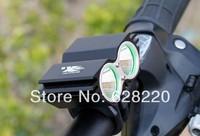 bicycle light SolarStorm 5000Lm 2x CREE XML U2 LED Bicycle Light bike HeadLight Headlamp Light