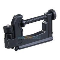 O3T# Metal & Plastic Mini Portable Swiveling C-Clamp Tripod Stand for Camera Camcorder DSLR