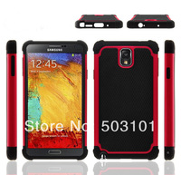Football Grain Pattern Shock proof case for Samsung Galaxy Note3 N9006 Tough Case +3pcs screen protector, stylus free shipping