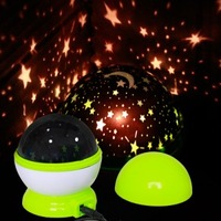 Rotary dream lamp luminous lamp star light usb power cable eye-lantern toy