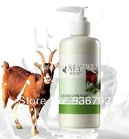 AFY New 2014  Goat milk Moisturizing Body Lotion Remove melanin 24 hours Whitening body cream  body care250ml