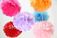 """30 Colors 300 pcs  6""""  15CM Tissue Paper Pom Poms Decorative Flower Balls-wall  Wedding Party Home Decoration festive supplies"""