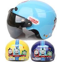 Huatai thomas the train thomas electric child blue motorcycle helmet