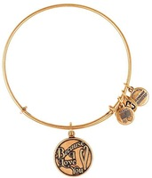 Alex and Ani Because I love you Silver Plated Alloy Charm Bracelets and Bangles for girls Free Shipping