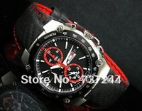 Luxury Mens Bar Honda Watch Alarm SNA633 Limited Edition Japan SNA633P1 Men Leather Watches