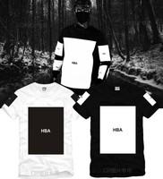 Hot 2014 Summer Lovers hood by air hba Pyrex 23 Fashion Clot Cotton short-sleeve T-shirt Streetwear tees Hip-Hop Shirts
