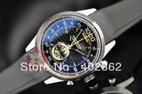 Brand New Mens Black Dial Tag Calibre Mikrotimer Flying Watch Mercedes Exclusive Sec Men Rubber Watches