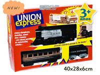 Trem union express belt federal train track set