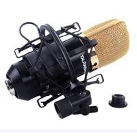 Microphone shock mount holder clip for mxl large diameter