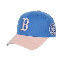 2014 Cotton - red sox mlb color block decoration baseball cap , Women sunbonnet cap hat full  Free shipping