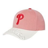 brand 2014 cotton mlb baseball cap , sunbonnet p full pink Women cap  Free shipping
