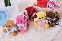 5000mAh Cute 3D Bear Plug Portable USB Power Bank Backup Battery For iPhone 4 5 For Samsung Galaxy S4 S5 Note 3 all Mobile Phone