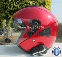 V-21 t6 double lenses helmet refires bluetooth helmet music to answertelephones motorcycle