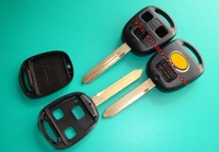 For TOYOTA YARIS HIACE COROLLA AVENSIS CAMRY 3 BUTTON REMOTE KEY FOB CASE TOY47