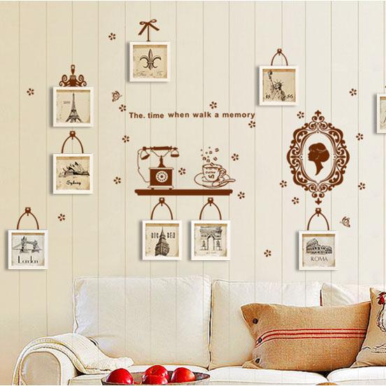 stickers muraux esthétique classique photos de mur