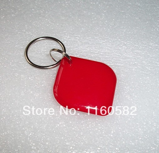 Diamond Red Rfid/NFC Tags 13.56MHz Crystal Epoxy for Android IC card ISO 14443A Mf1 1K S50(China (Mainland))