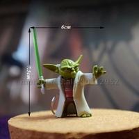 Novelty Star Wars Character 3D Jedi Master Yoda Toy Keychain/Keyring  Key Chain Key Ring