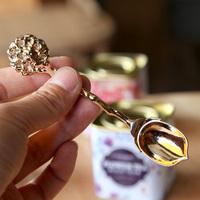 Magic wand taiaha exquisite coffee spoon ice cream spoon watermelon spoon West dessert spoon