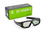 original Second generation wireless inve nvidia 3d Stereo vision glasses 3d vision 2