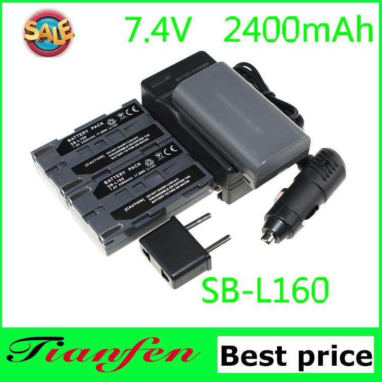 Аккумулятор для фотокамеры Tianfen 3 SB/L160 SB L160 + samsungsc/l520 sc/l530 sc/l550 sc/l600 Camcoder sc/l610 SB-L160 l