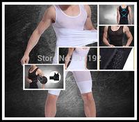1Pcs 2014 new design Men's sexy body shaper vest posture correction slimming tank tops X04